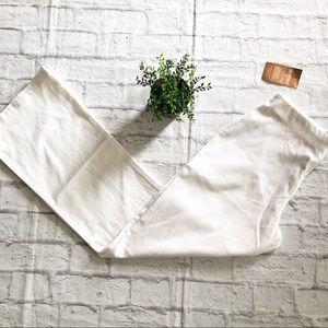 NWT Soft Surroundings Slimfitters White Zip front